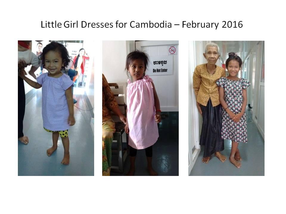 Dresses for Cambodia 2016